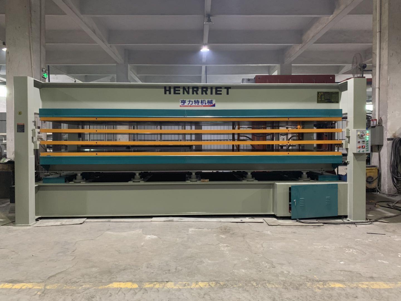 亨力特hlt3248-100t鋁蜂窩板熱壓機,熱壓機尺寸非標可以定制示例圖2
