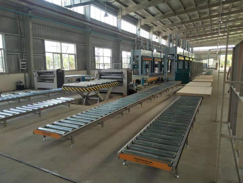 亨力特液壓全自動輸送冷壓機HLT3248-50t,木工家具板材復合冷壓機示例圖11